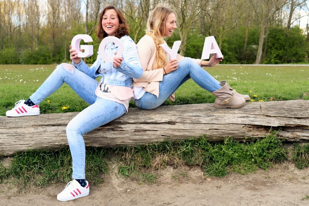 De blogbabes, Gaby en Kelly